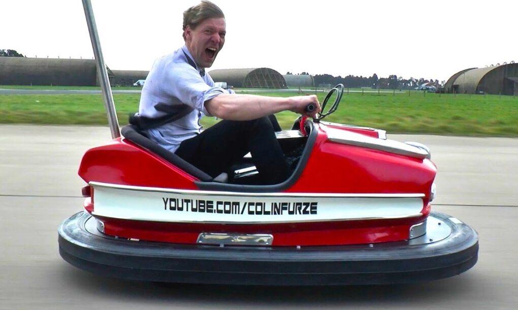 Dit is s werelds snelste botsauto en gaat 160 kmu