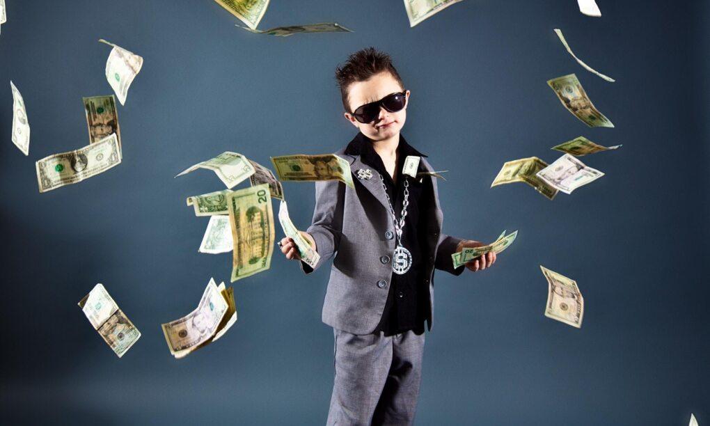 Jongste kind in familie heeft grootste kans om miljonair te worden 1