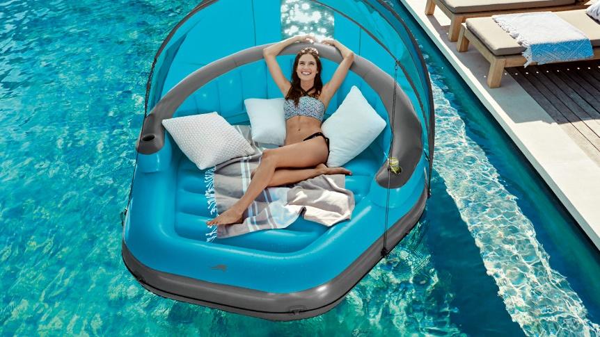 HEBBEN Lidl komt met chill en cheap opblaasbaar lounge eiland thumb