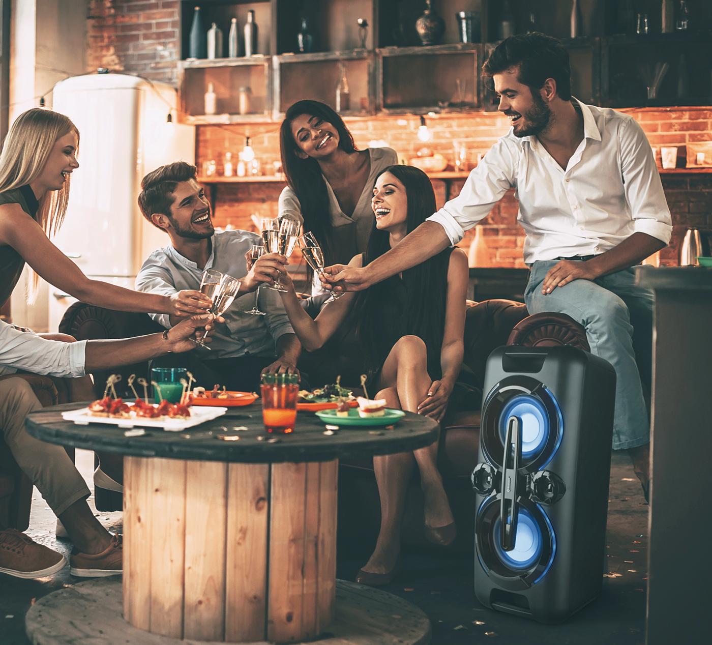 Aldi komt met 220 watt tellende boombox speaker voor €8999 01