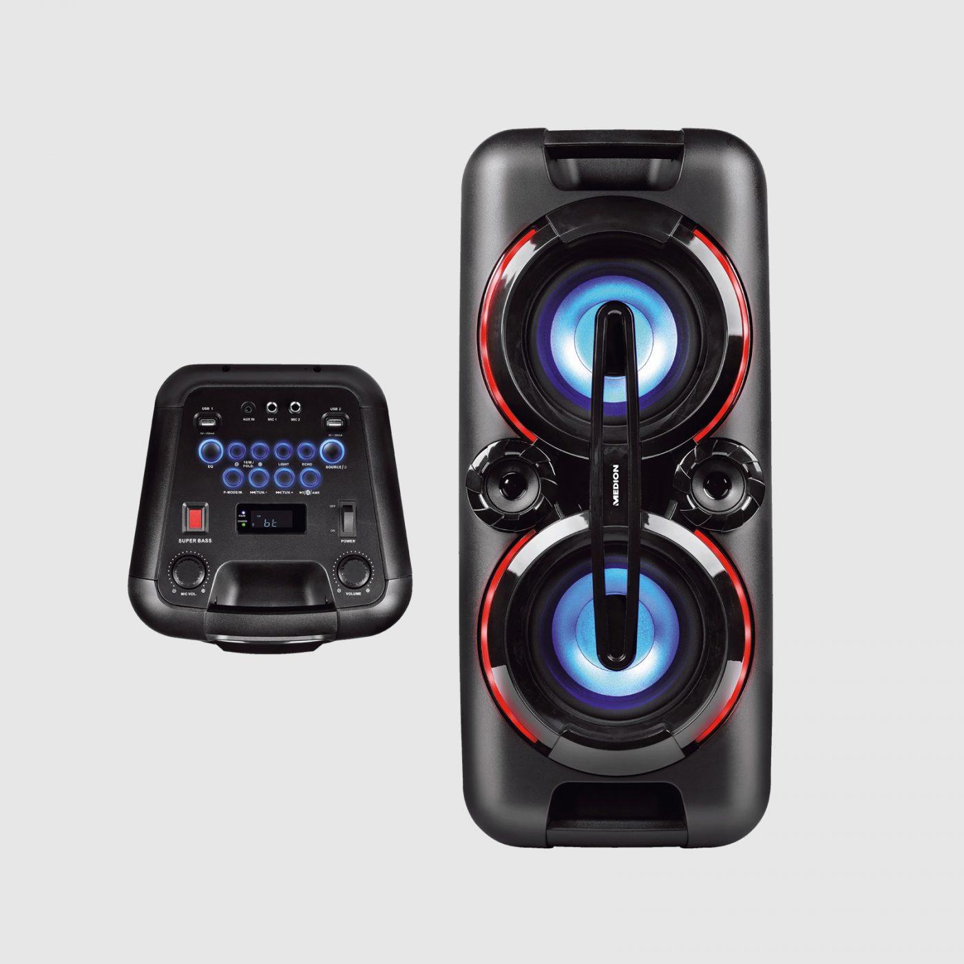 Aldi komt met 220 watt tellende boombox speaker voor €8999 02