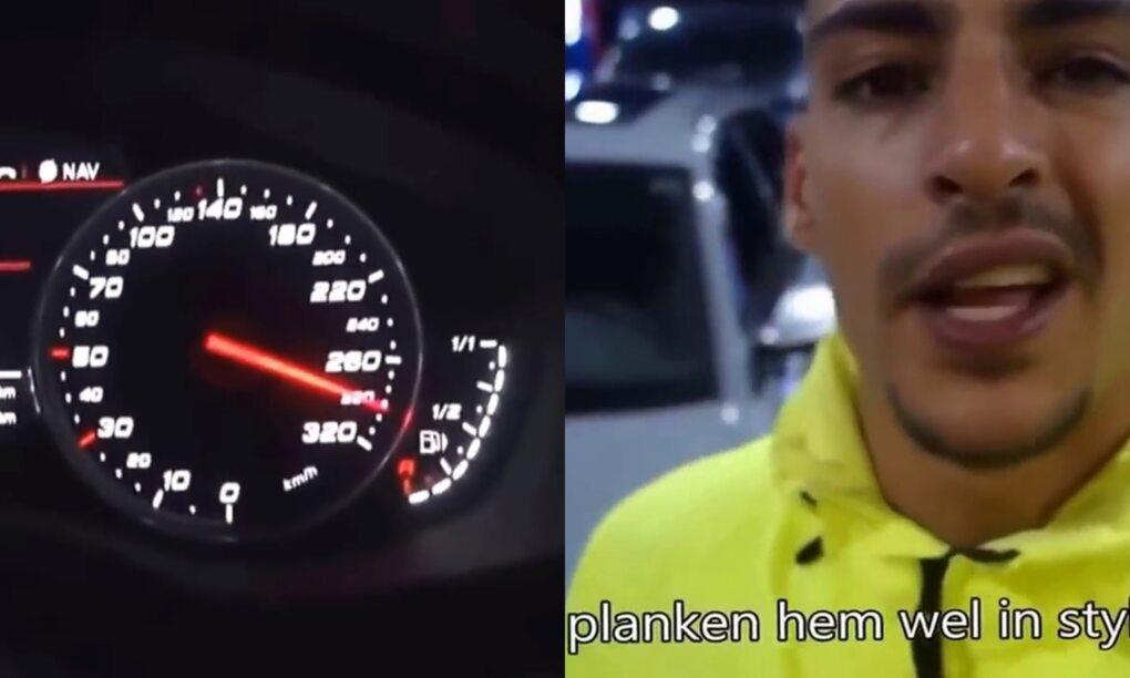 Rapper Boef voor rechter vanwege 300 kmu ritje in Audi RS6