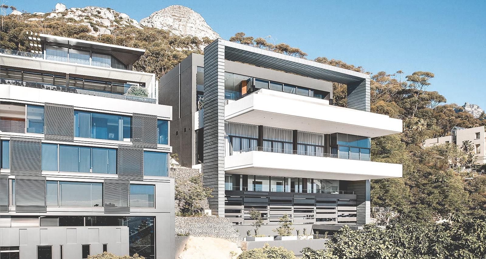 Uitzicht op Lions Head vanuit de dikste villa in Kaapstad 03