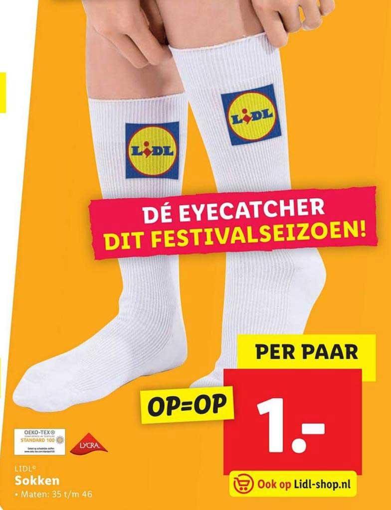 Manly.nl Lidl sokken folder