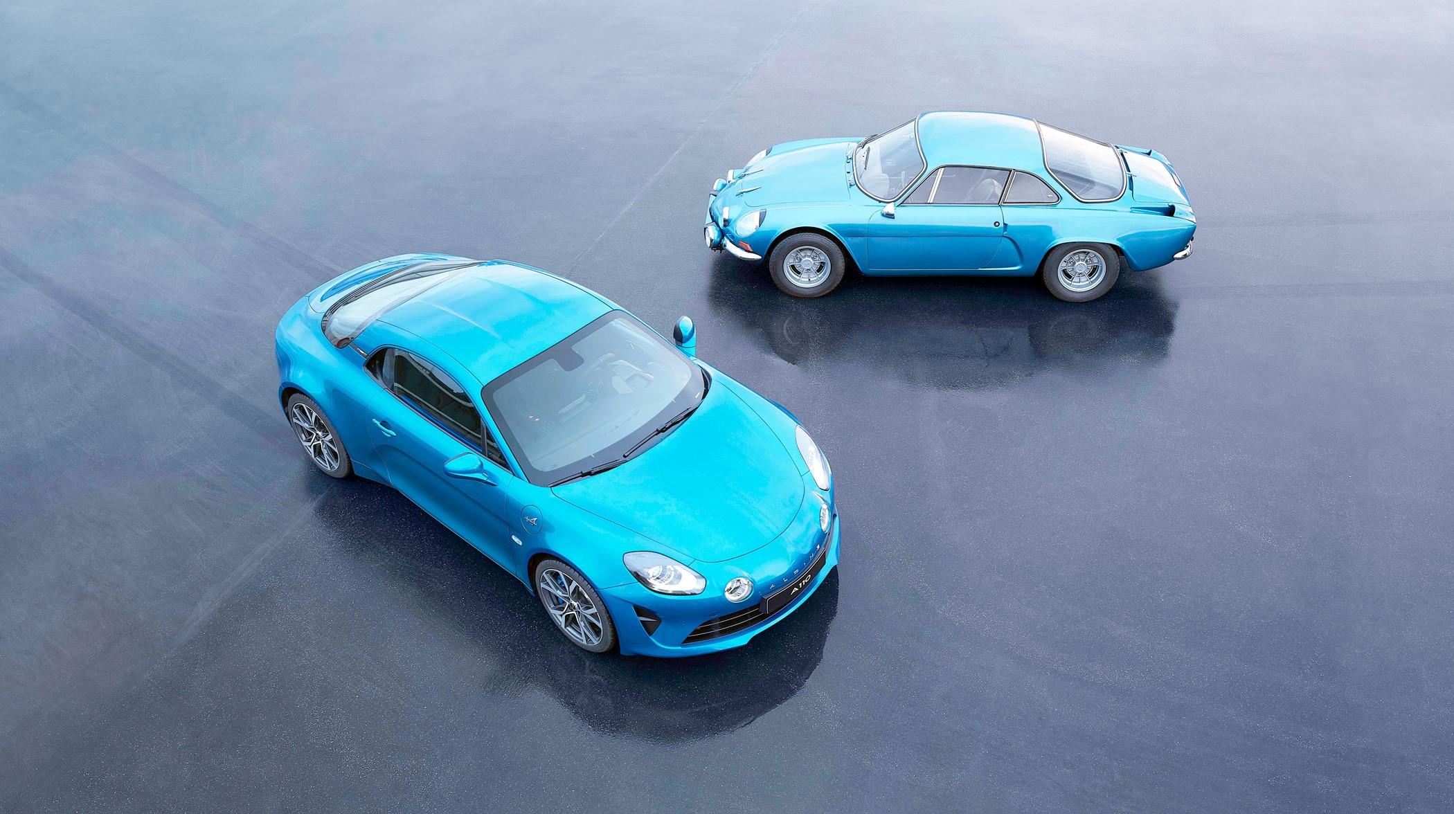 Renault Alpine A110 Alpine vs Alpine Many.nl