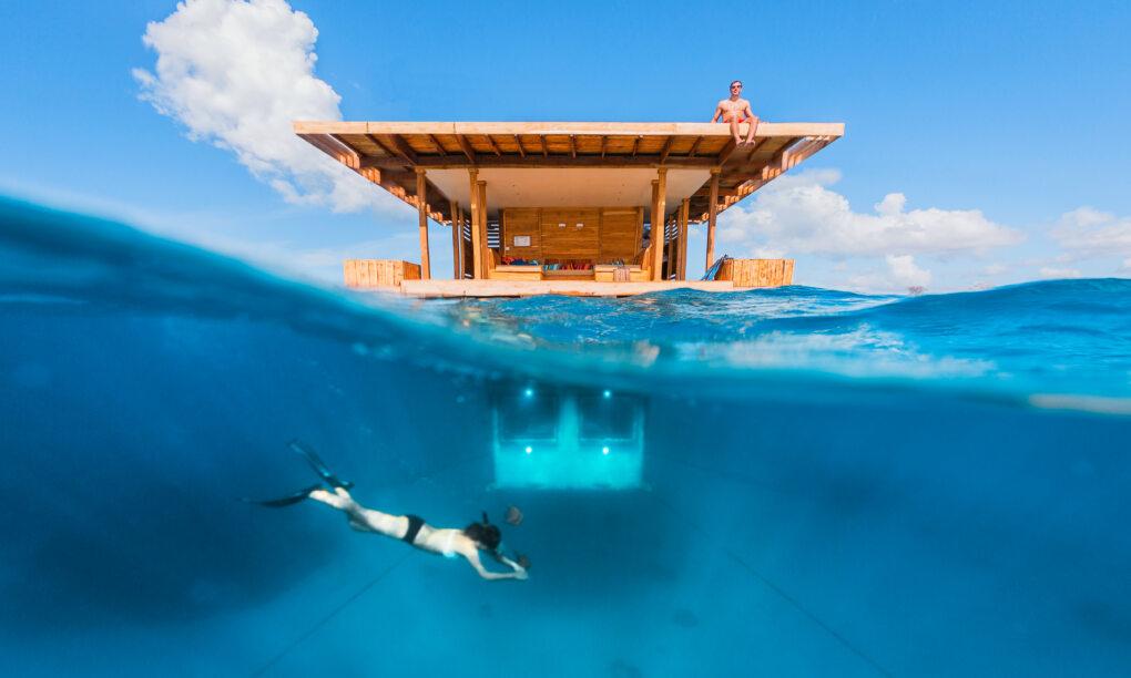 Hotel onder water the underwater room