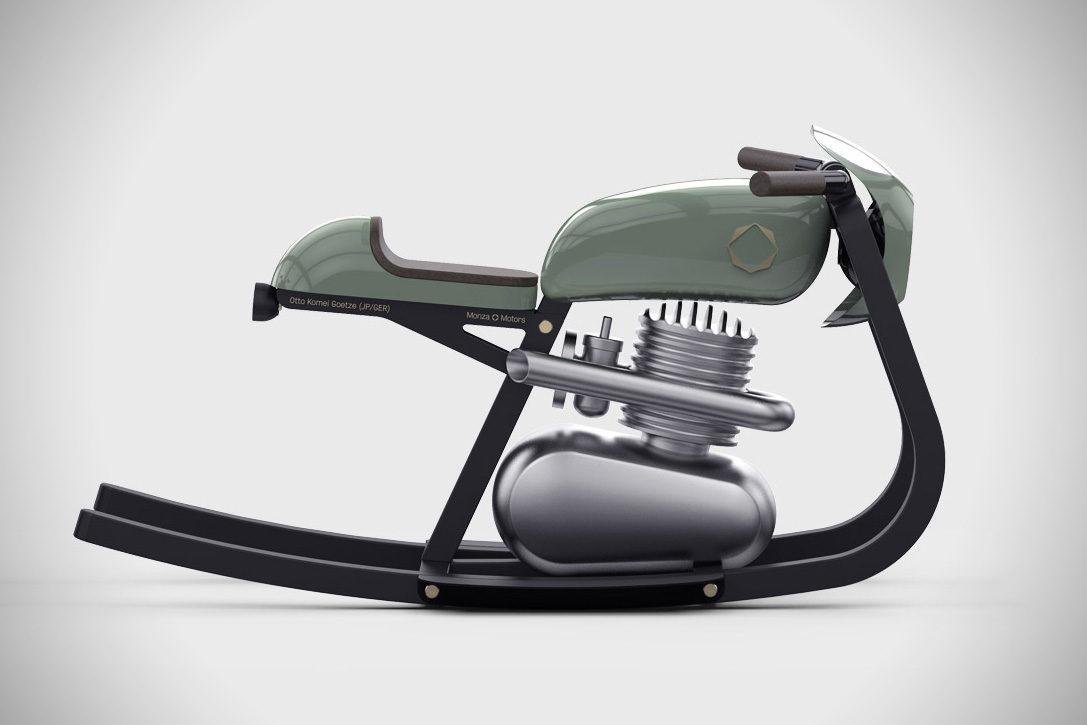 Deze Moto Rocker is het meest stoere en stijlvolle kado voor jouw kind