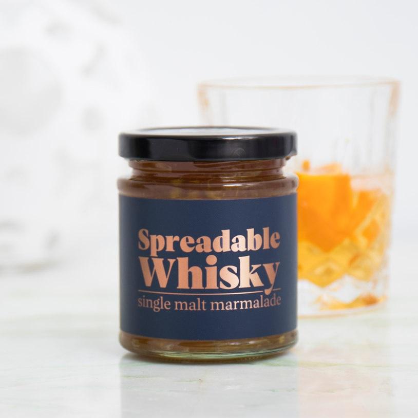 Dit is het meest mannelijke beleg ooit Spreadably Whisky