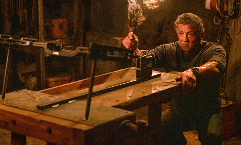 Stallone is op zijn 72e terug met nog één keer een nieuwe Rambo film