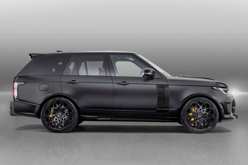 Overfinch heeft de Range Rover een hele unieke look gegeven 1