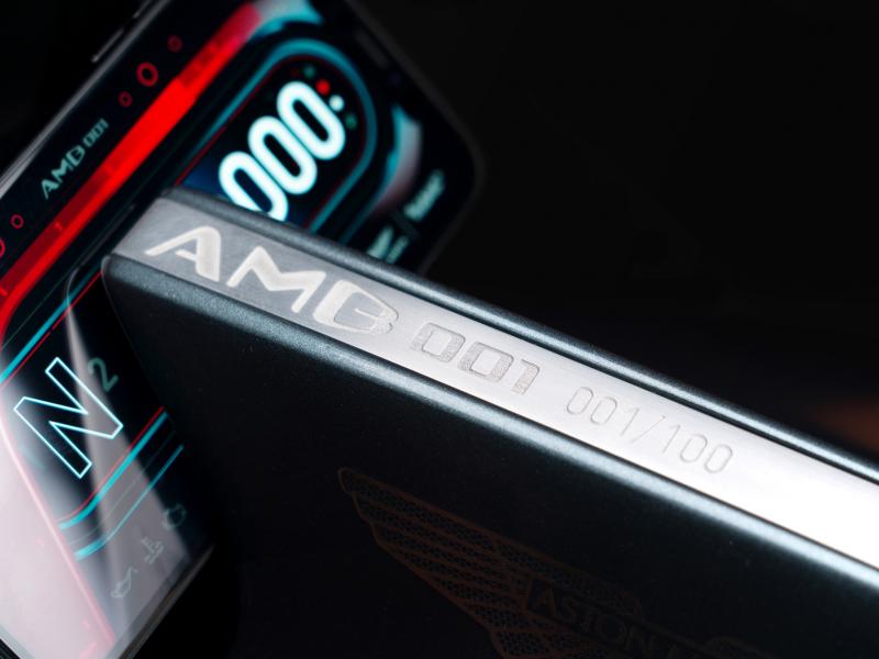 De eerste Aston Martin motor is officieel een feit 5