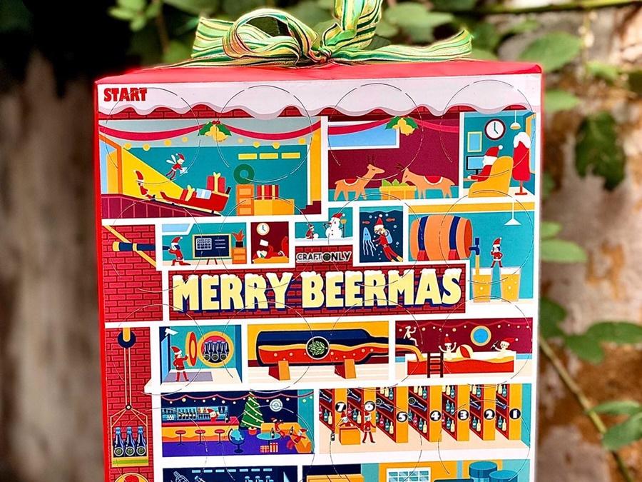 Met deze bier adventskalenders van 2019 pils je af tot de Kerst Merry Beermas