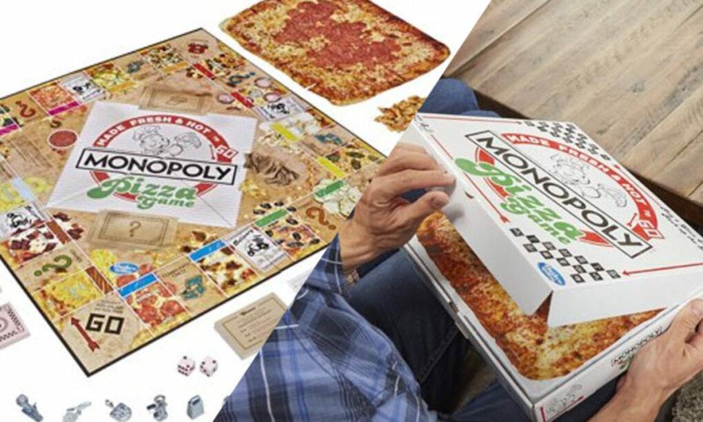Met deze variant van Monopoly koop je Pizza in plaats van grond en huizen 1 2