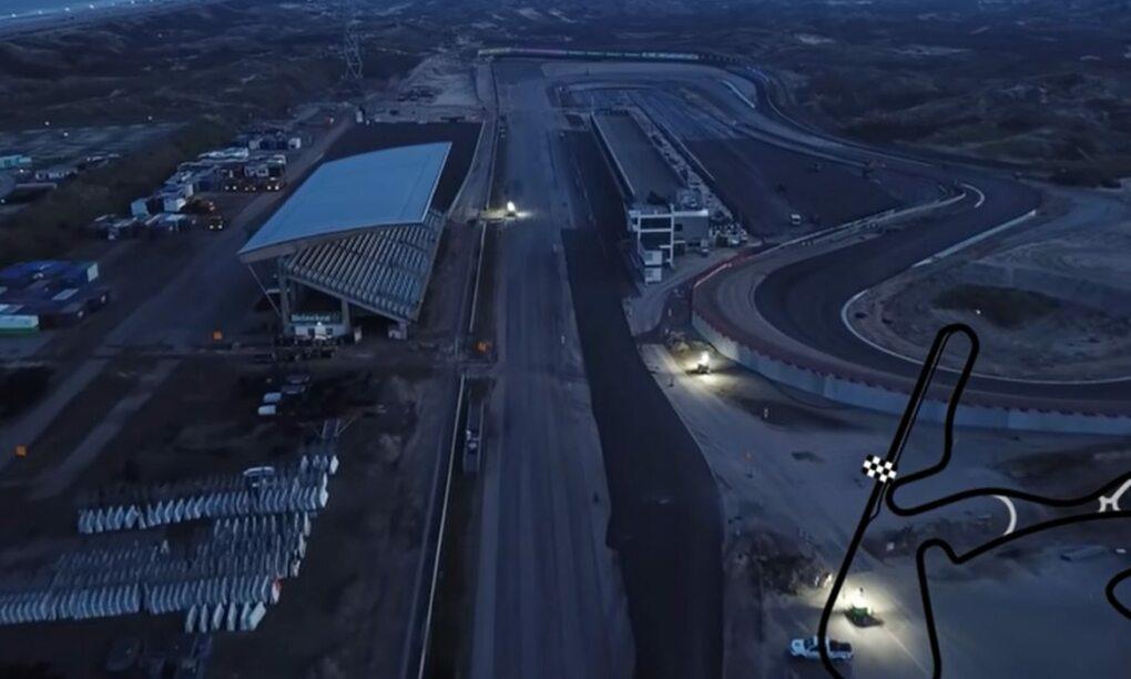 Deze Drone video laat de metamorfose zien van Circuit Zandvoort