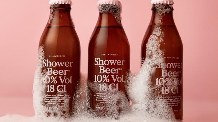 Er is eindelijk een biertje spciaal voor onder de douche ontwikkeld