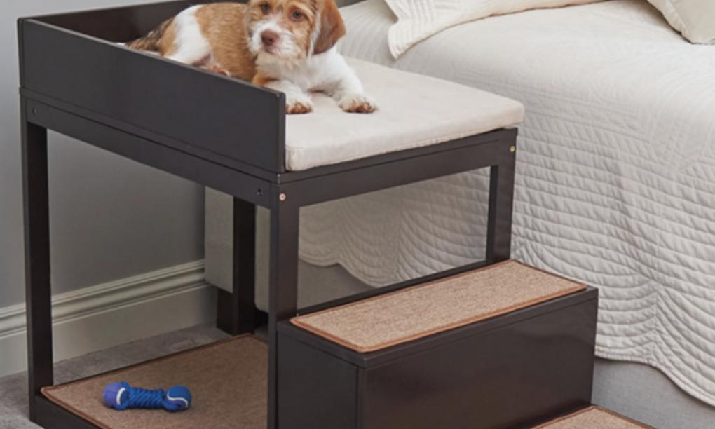 Met de Pets Bedside Bunk lig je vanaf nu naast je hond zonder wakker te worden