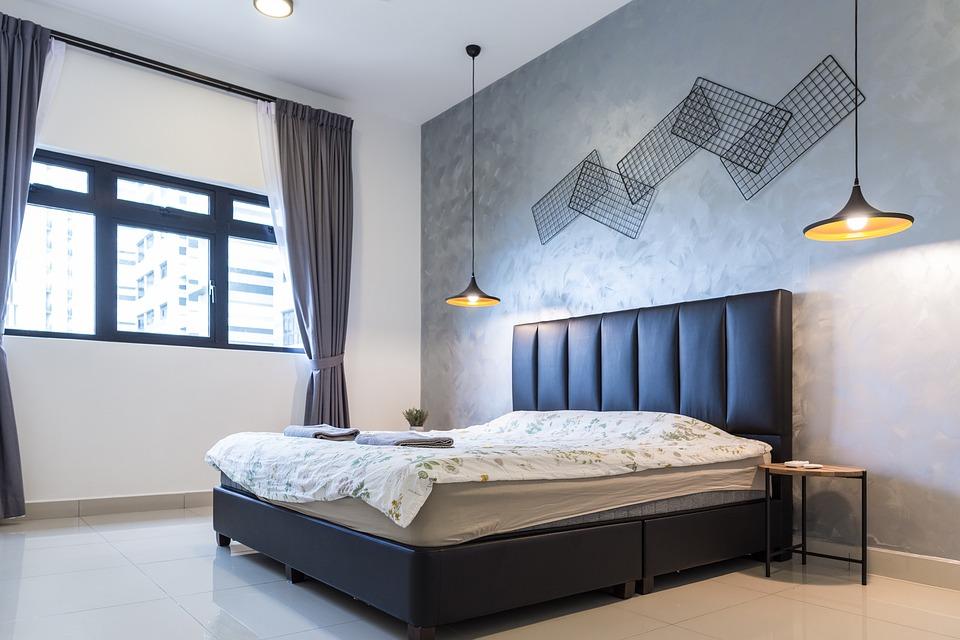 mannelijke slaapkamer