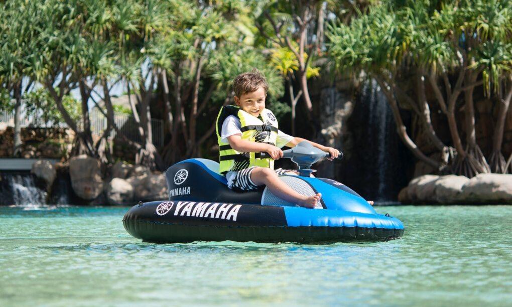 Opblaasbare e jetski Makro Yamaha Aqua Cruise thumb