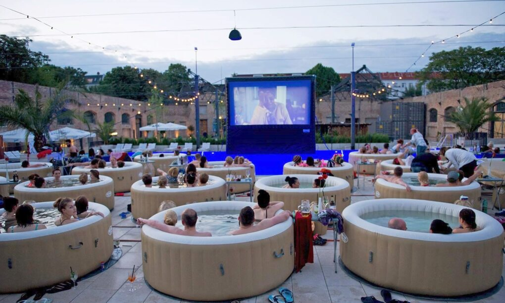 popup cinema jacuzzi films amsterdam