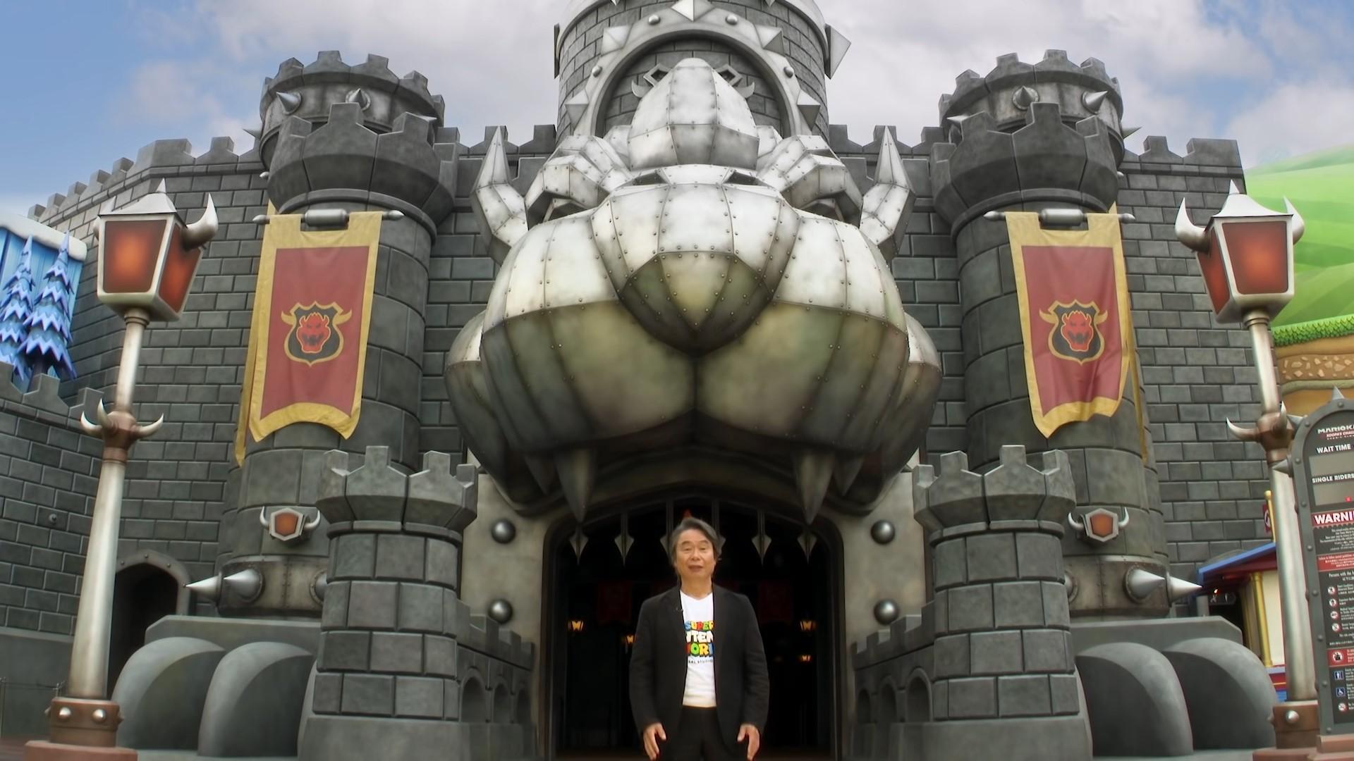 virtuele tour Super Nintendo World