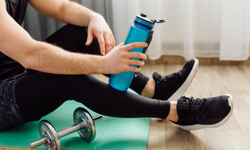 thuis trainen fitness apparatuur