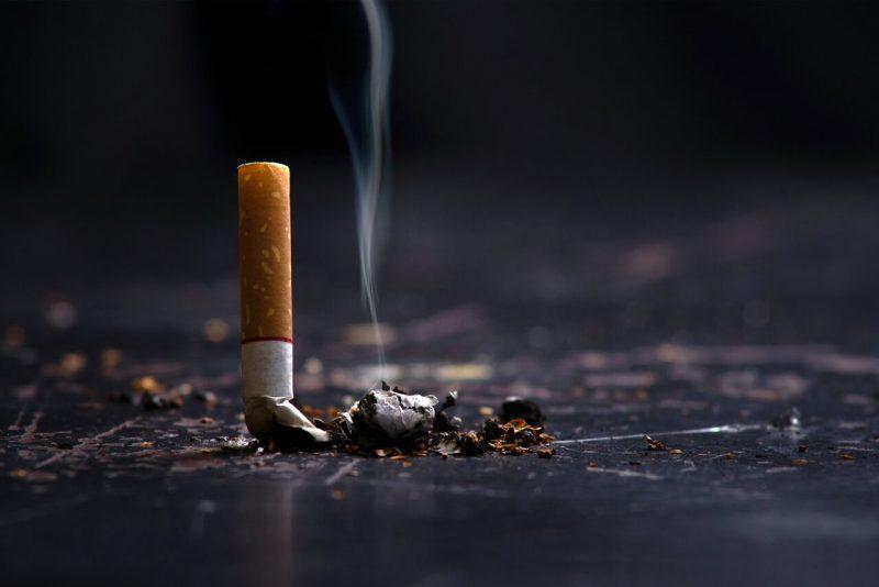 stoppen met roken rookvrij