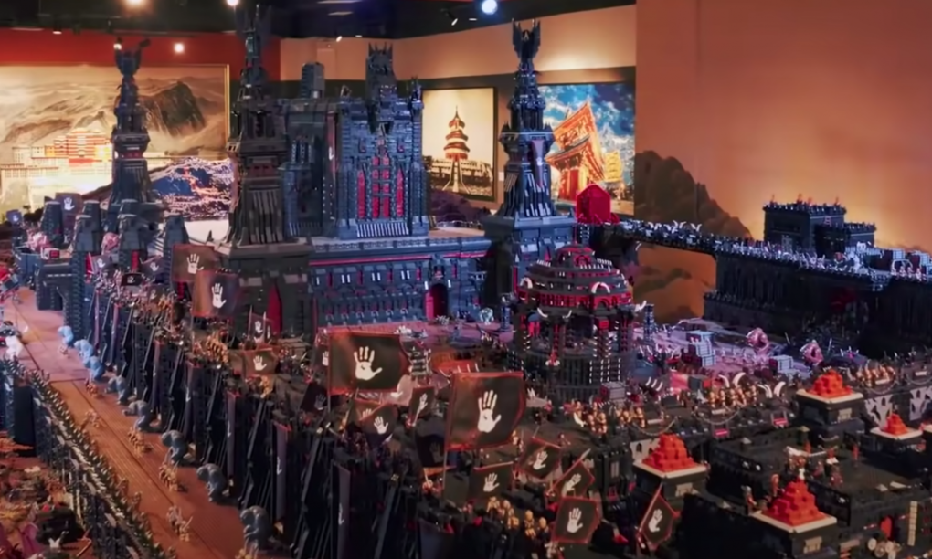 LEGO, lord of the rings,