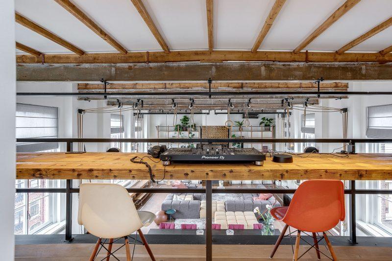 design, appartement, funda, gymzaal, dj-booth