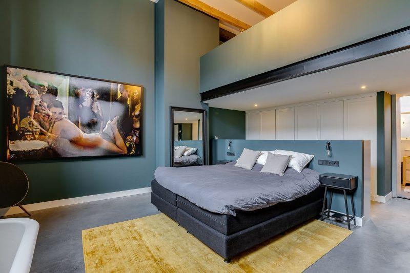 design, appartement, funda, gymzaal, slaapkamer