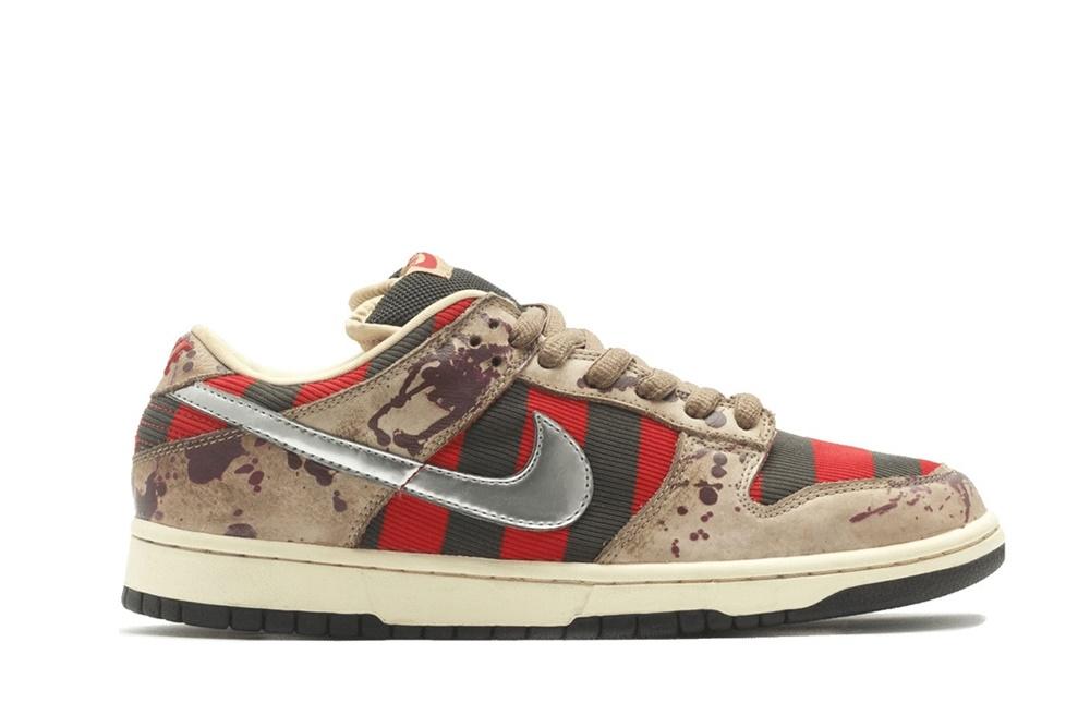 Duurste Nike Sneakers, Nike SB Dunk Low Freddy Kruegger, Stockx
