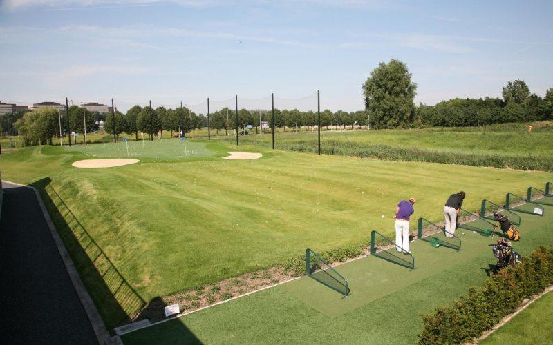 hoge, dijk, golfen, golfvaardigheidsbewijs, GVB