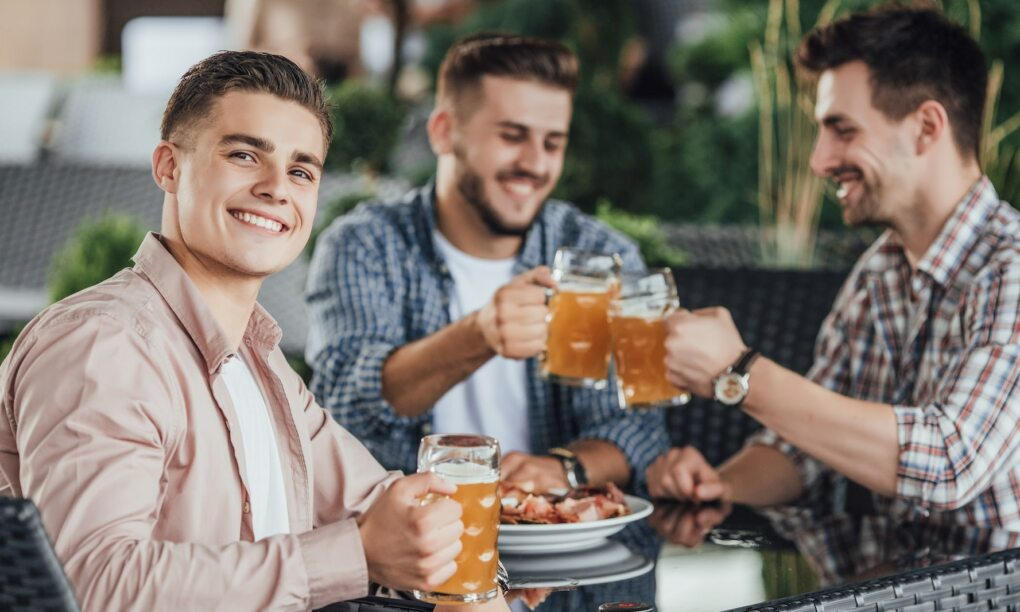 bier, drinken, vrienden