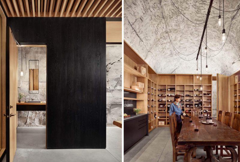 Functionaliteit en Design wijnkelder